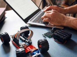 Arduino programming internship at robot camp